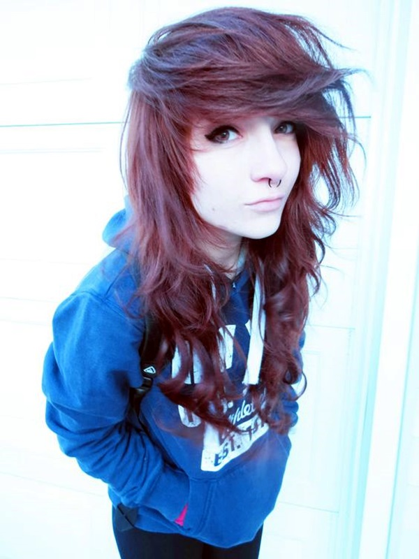 Cute Emo Hairstyles For Girls (4)