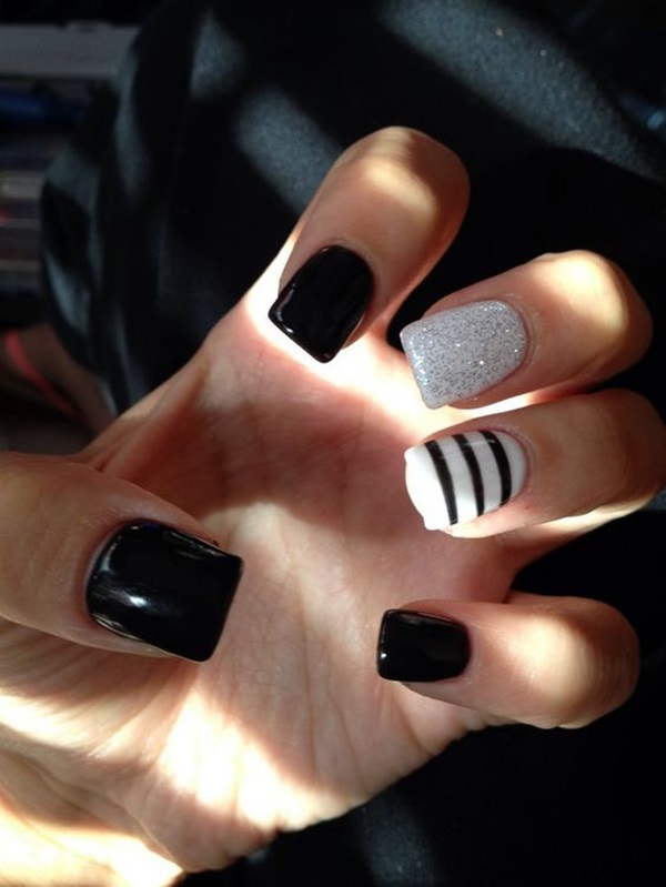 Easy Nail Polish Ideas And Designs (11)
