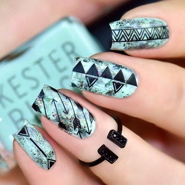 Easy Nail Polish Ideas And Designs (12)