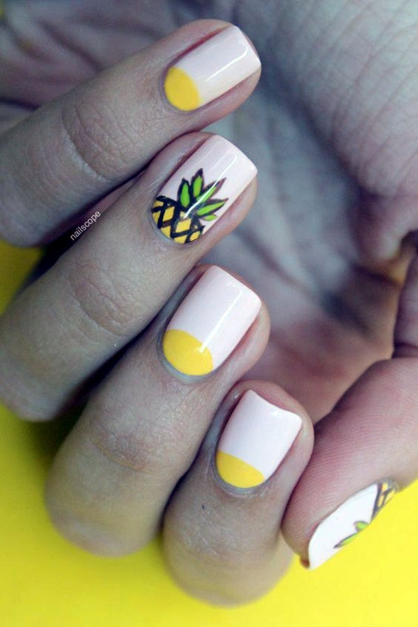 Easy Nail Polish Ideas And Designs (27)