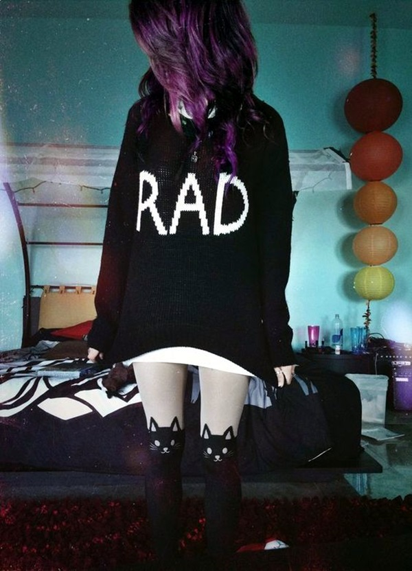 Emo Style Outfits And Fashion Ideas (10)