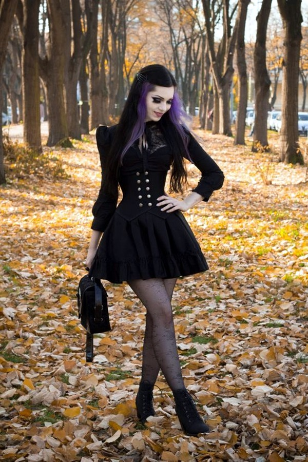 Emo Style Outfits And Fashion Ideas (11)