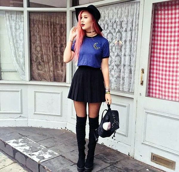 Emo Style Outfits And Fashion Ideas (22)