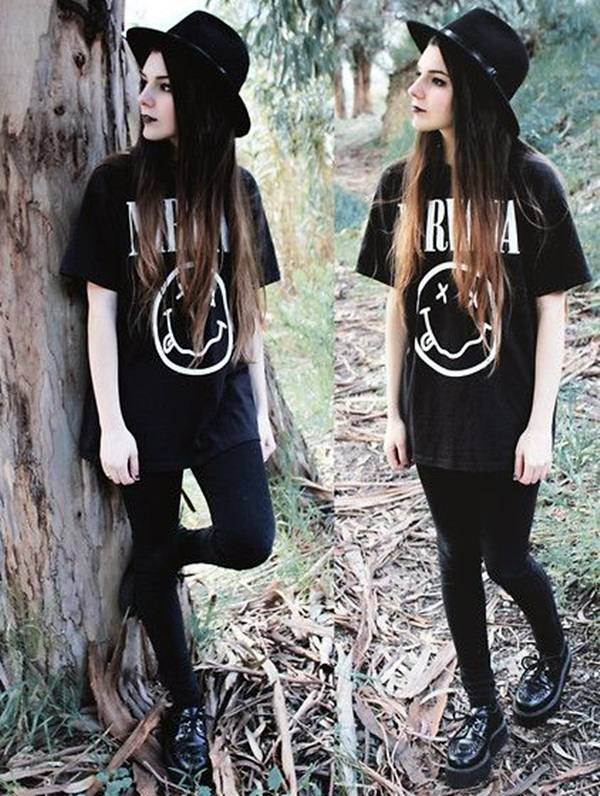 Emo Style Outfits And Fashion Ideas (6)