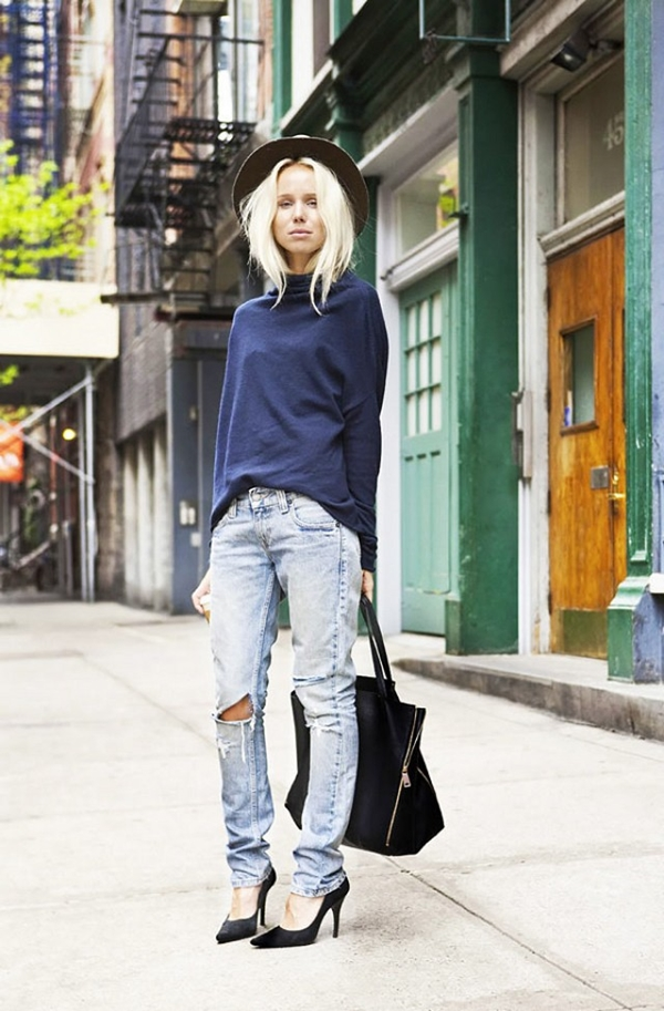 How to Wear Boyfriend Jeans Outfits (14)