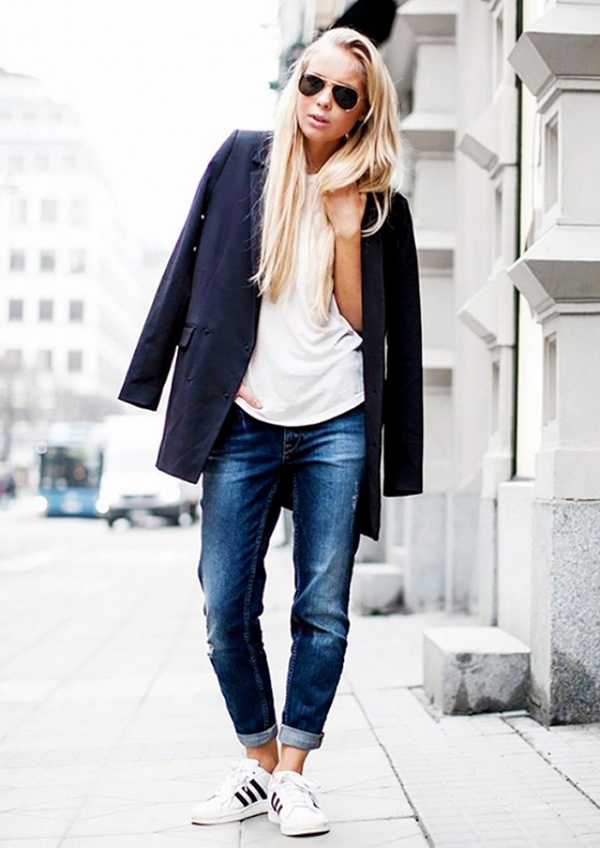 How to Wear Boyfriend Jeans Outfits (15)