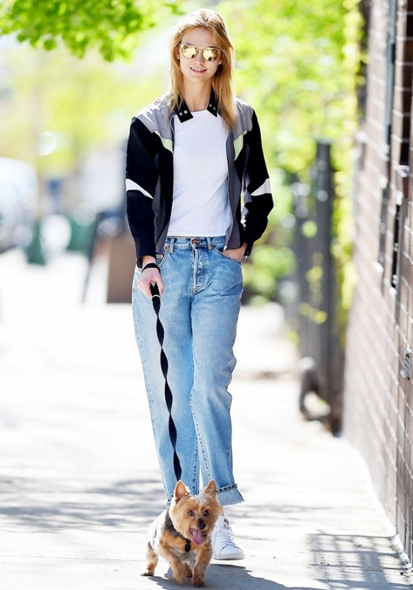 How to Wear Boyfriend Jeans Outfits (19)