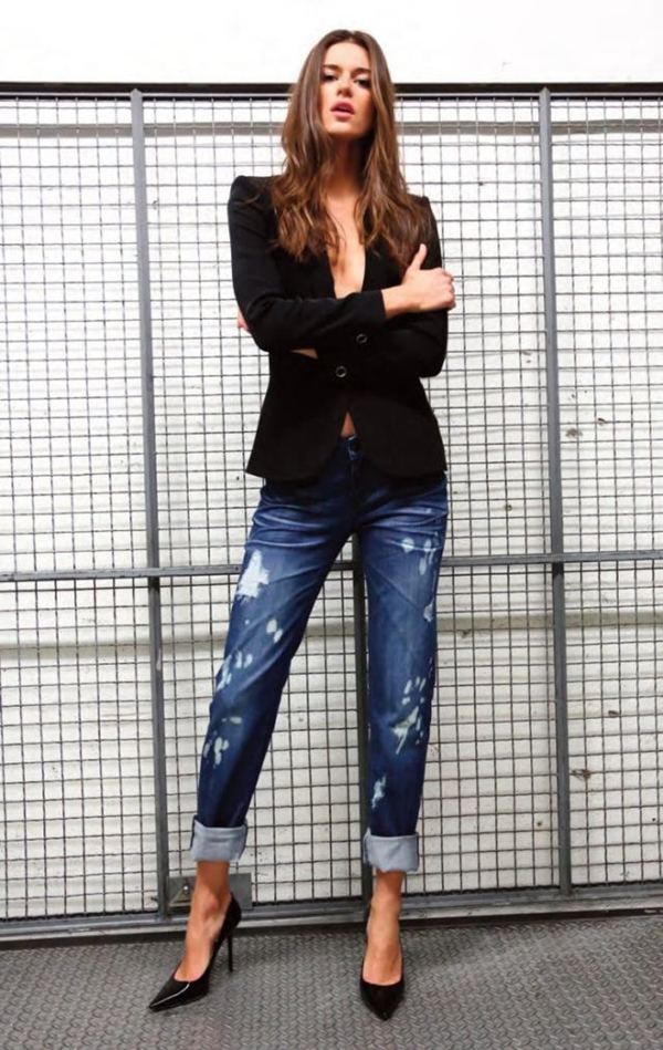 How to Wear Boyfriend Jeans Outfits (25)