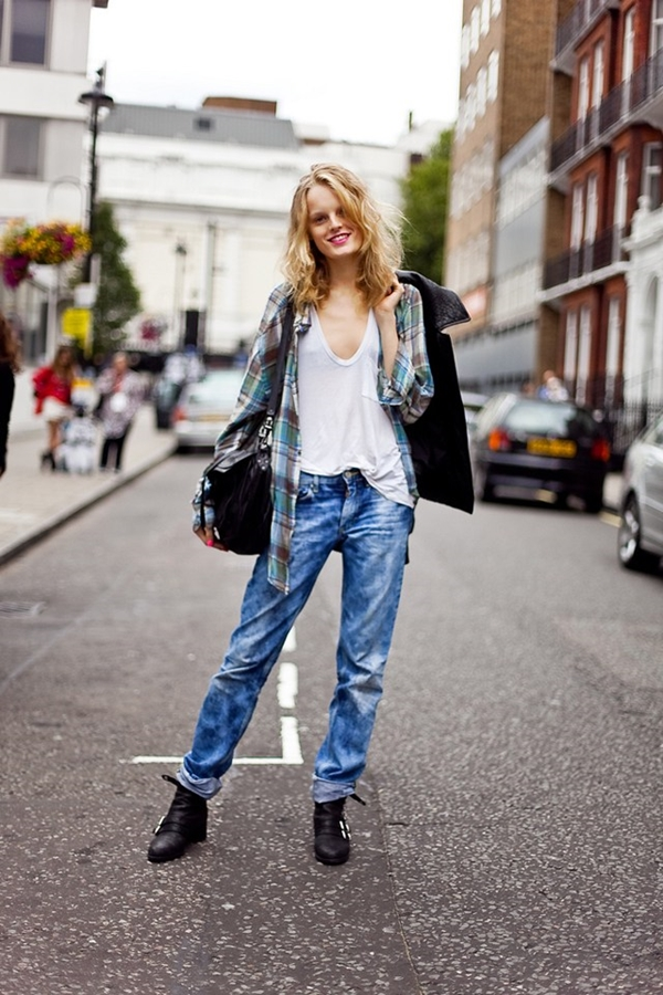 How to Wear Boyfriend Jeans Outfits (26)