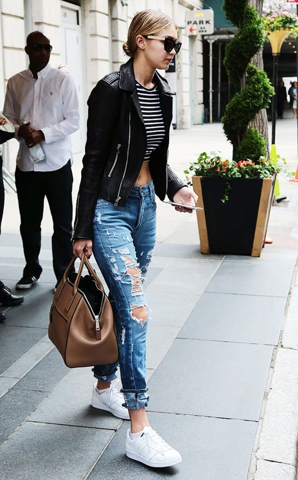 How to Wear Boyfriend Jeans Outfits (28)