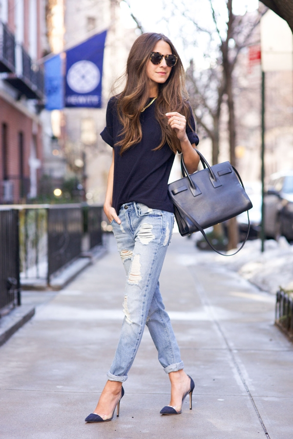 How to Wear Boyfriend Jeans Outfits (4)