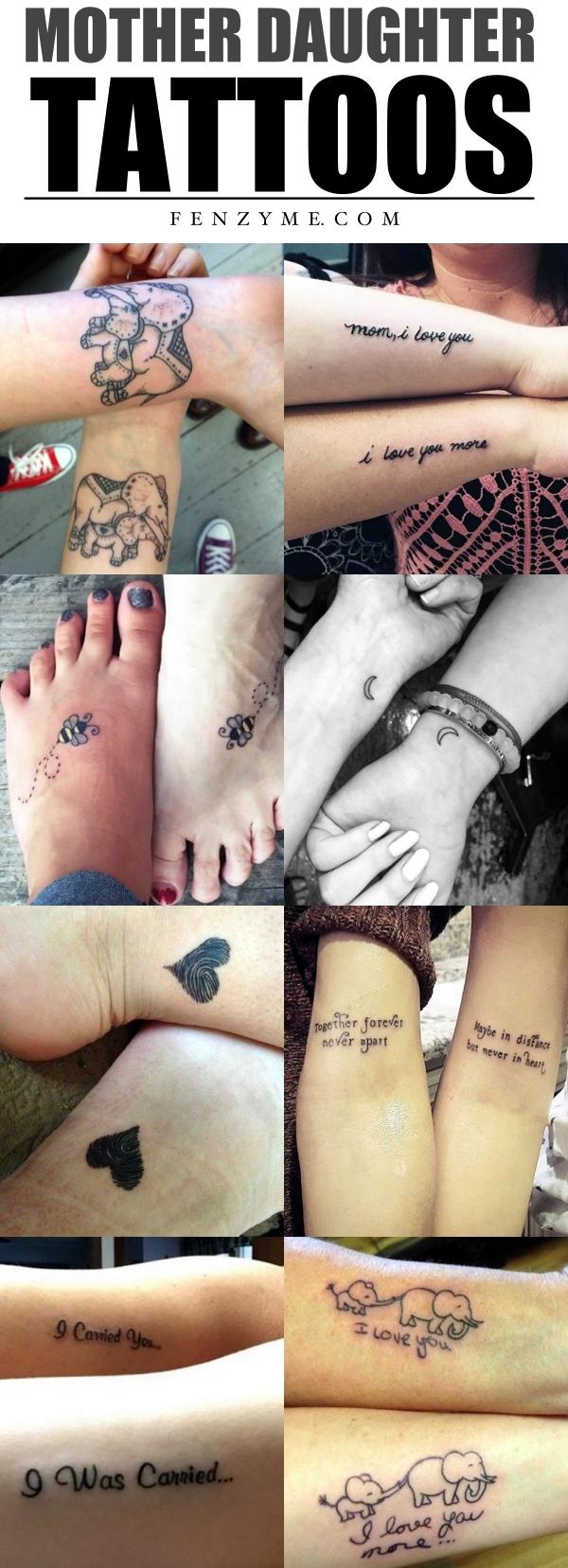 Mother Daughter Tattoos1