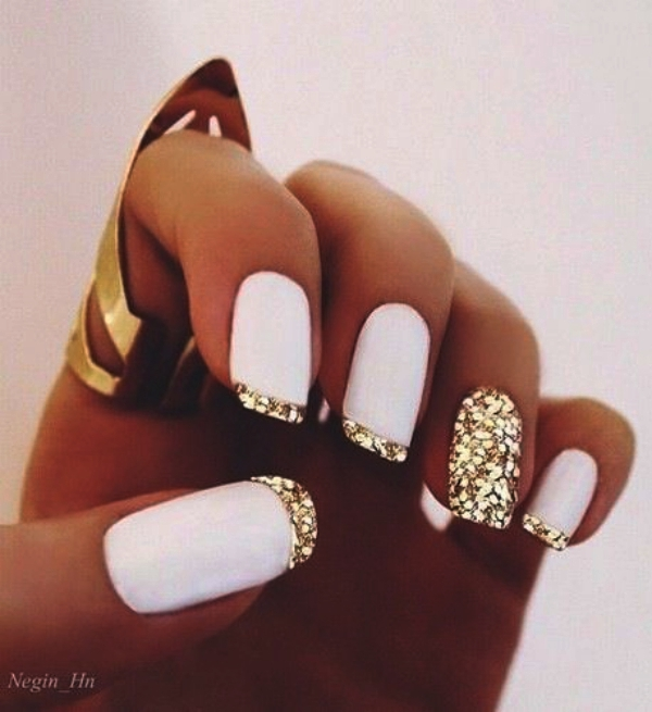 PRETTY FRENCH NAILS DESIGNS