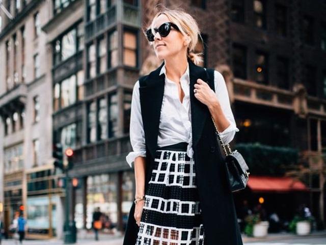 Sleeveless Blazer Outfits