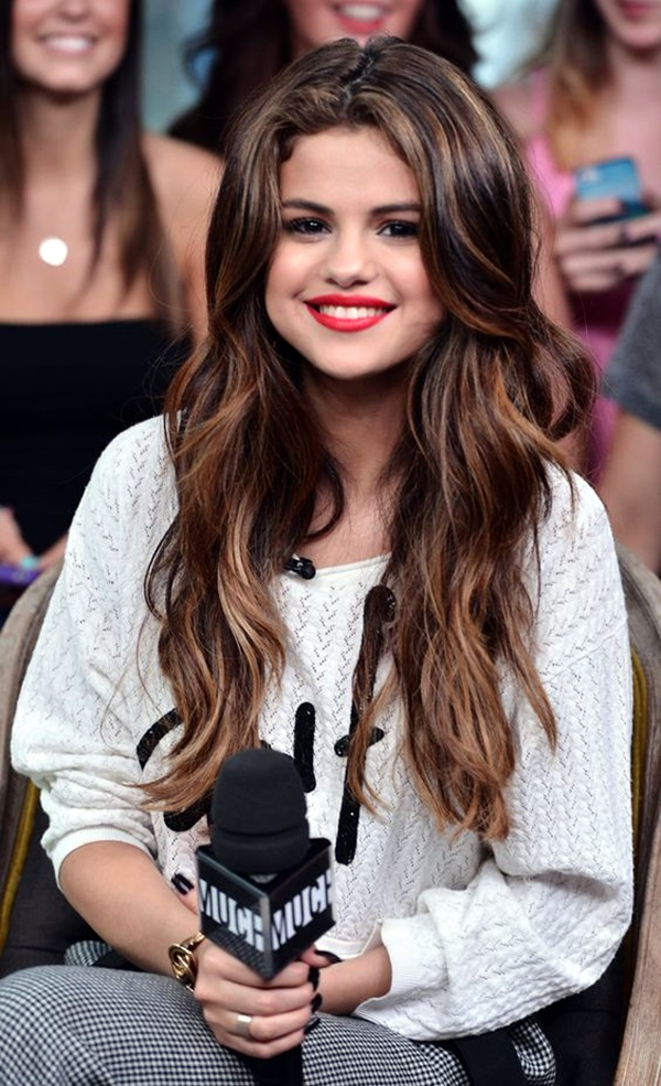 TORONTO, ON - MAY 30: Selena Gomez Co-Hosts New.Music.Live.at MuchMusic Headquarters on May 30, 2013 in Toronto, Canada. (Photo by George Pimentel/WireImage)