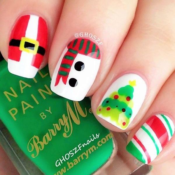 pretty-santa-nails-ideas-10
