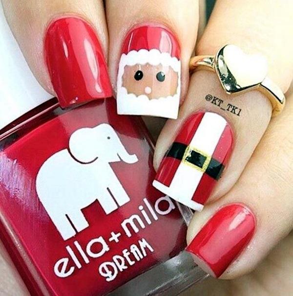 pretty-santa-nails-ideas-11