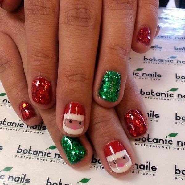 pretty-santa-nails-ideas-13