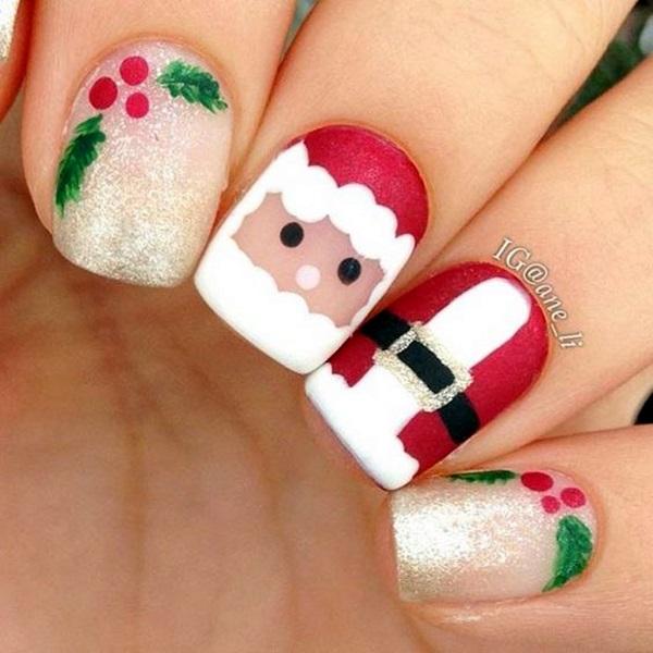 pretty-santa-nails-ideas-14