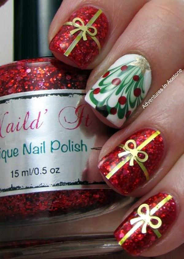 pretty-santa-nails-ideas-21