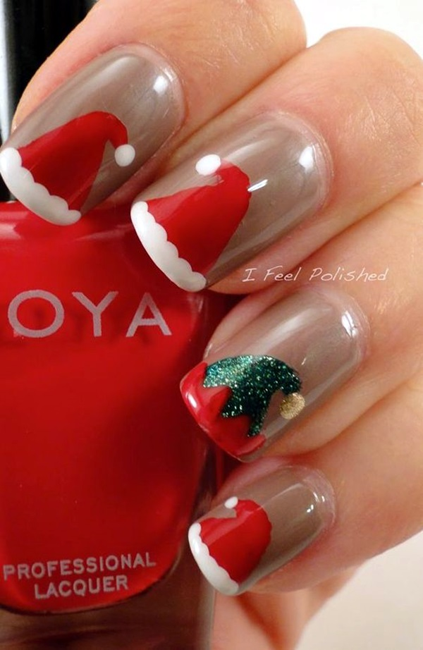 pretty-santa-nails-ideas-4