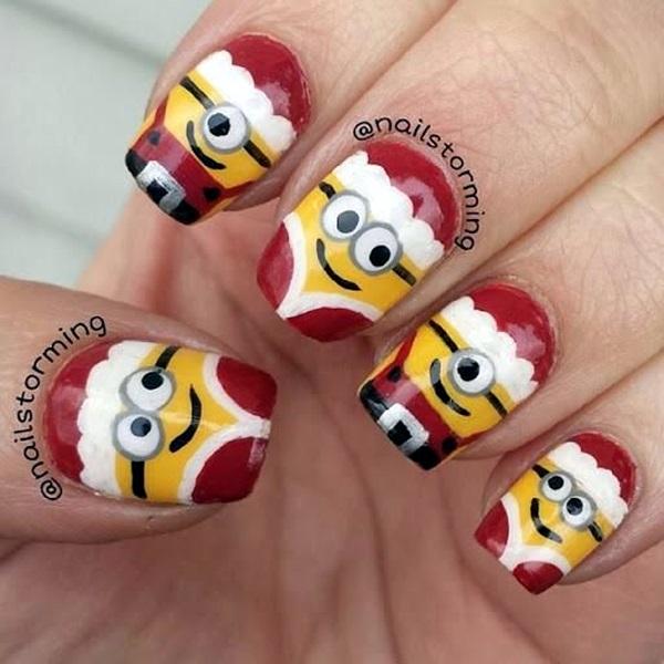 pretty-santa-nails-ideas-6