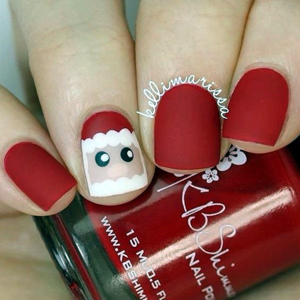 pretty-santa-nails-ideas-7
