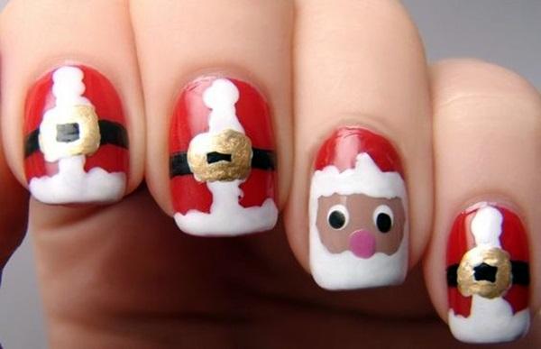 pretty-santa-nails-ideas-9