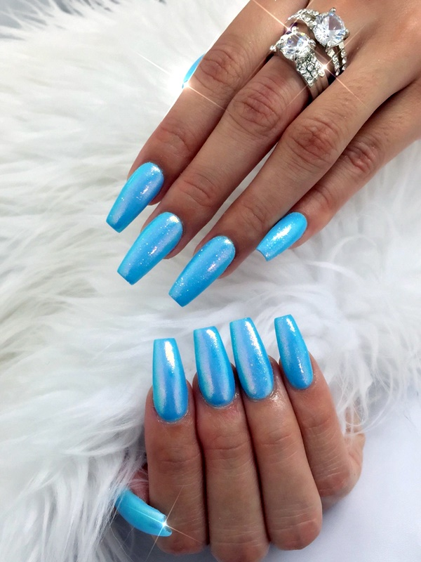 40 Sensational Coffin Nails Designs for that Premium Feel