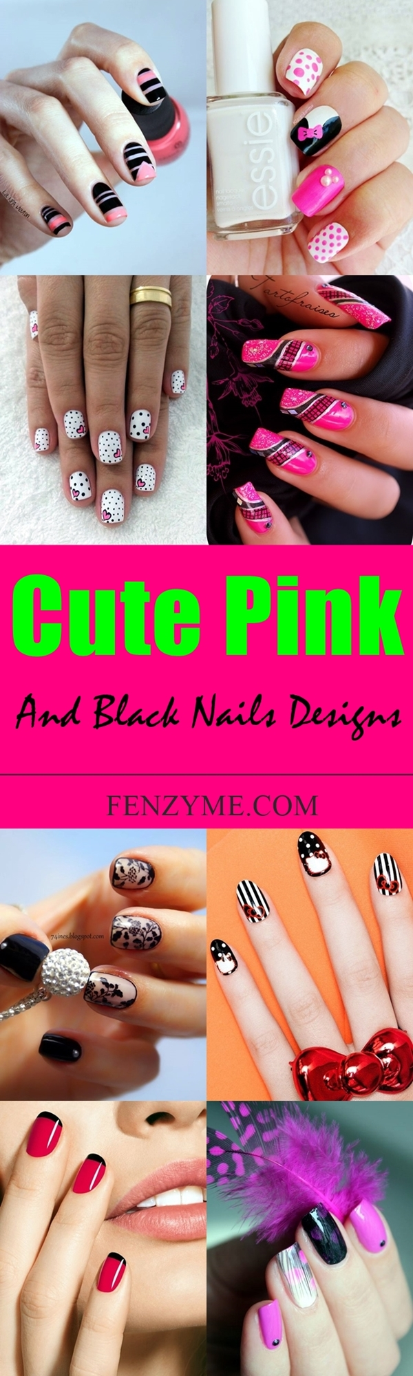 cute-pink-and-black-nails-designs-1-tile