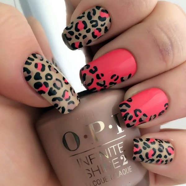 cute-pink-and-black-nails-designs-4