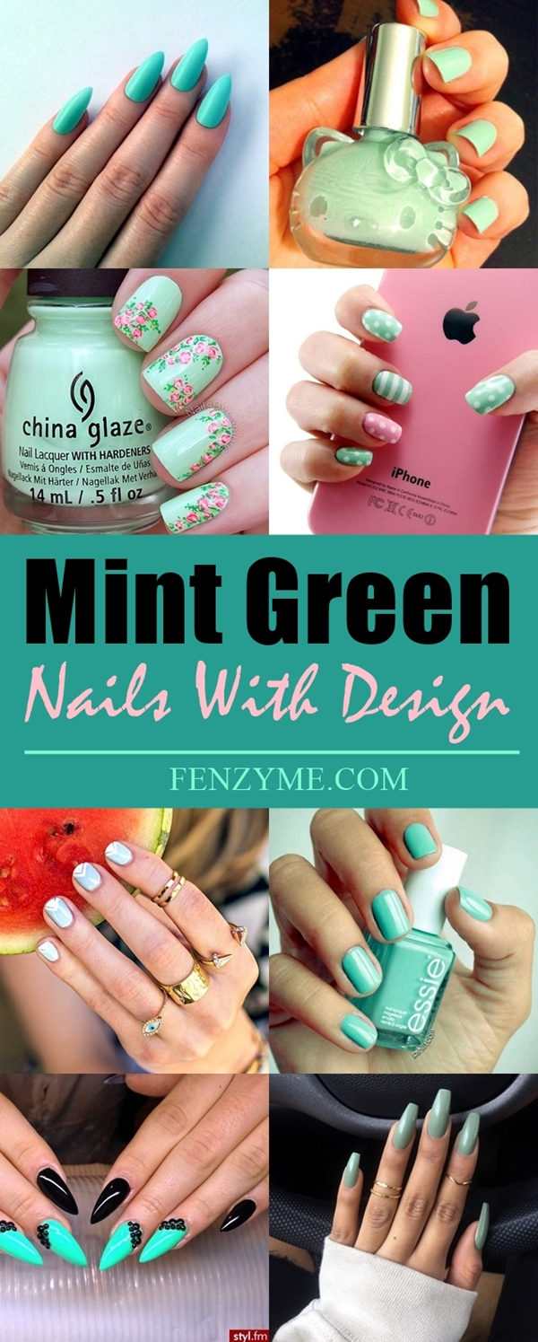 mint-green-nails-with-design-1
