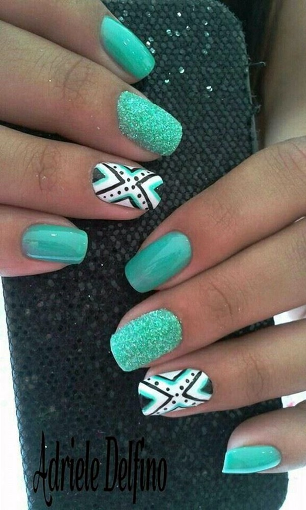 mint-green-nails-with-design-8