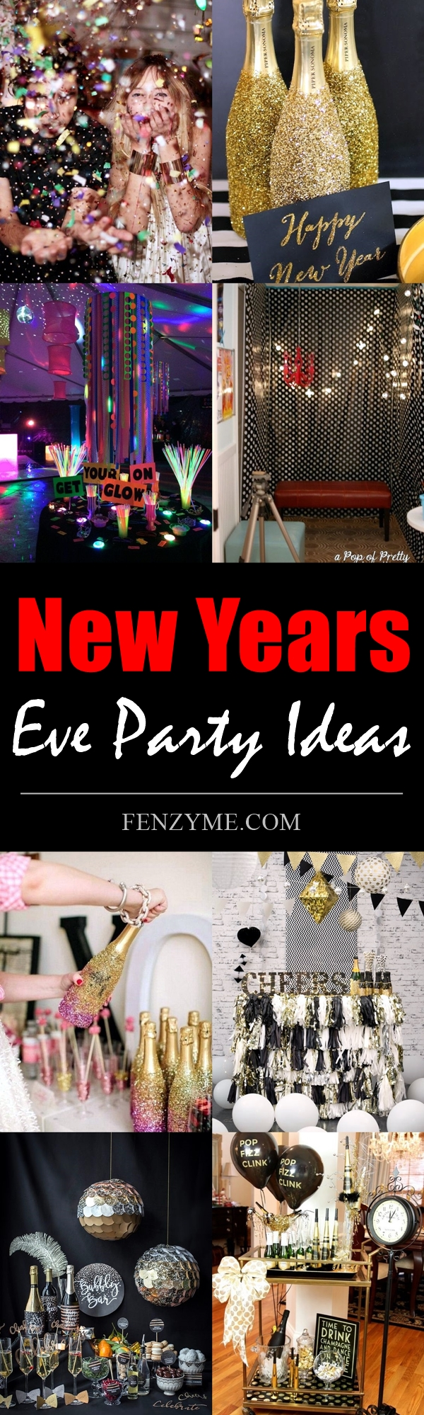 10 fun new years eve party ideas for 2018. Black Bedroom Furniture Sets. Home Design Ideas