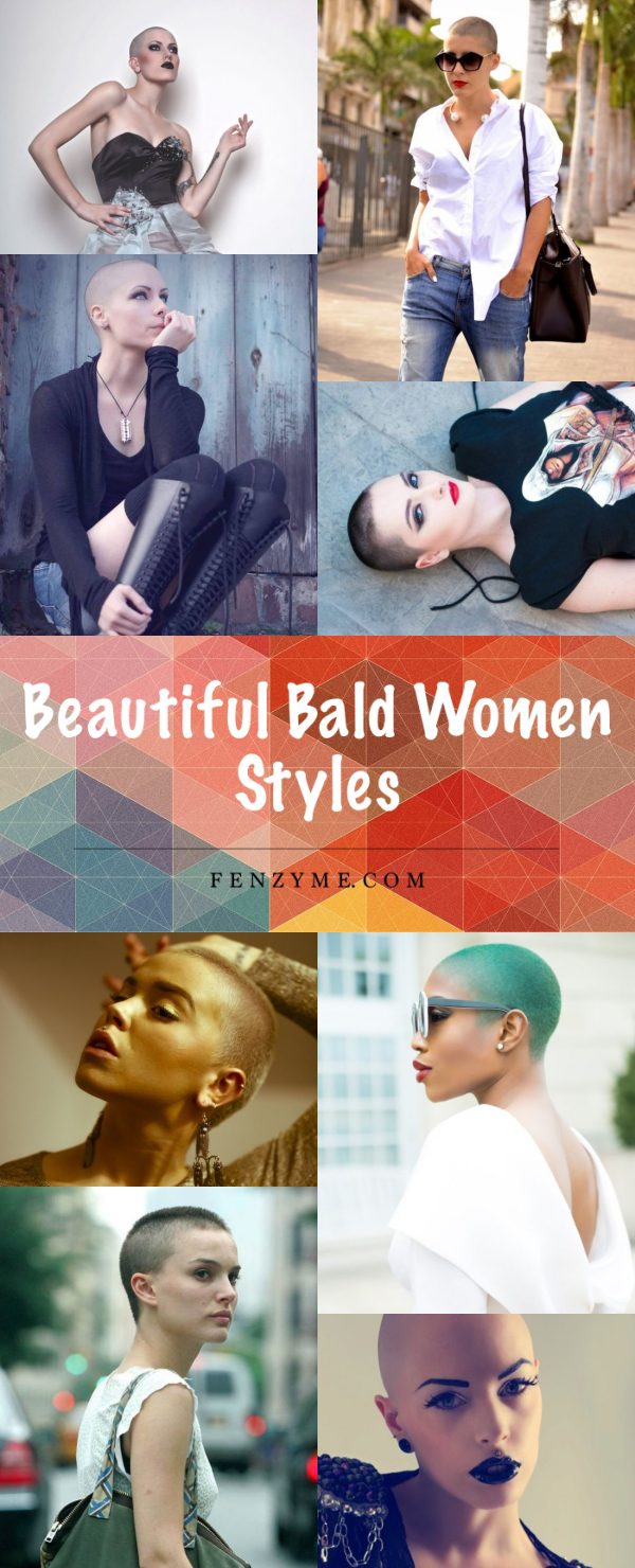 Beautiful Bald Women Styles