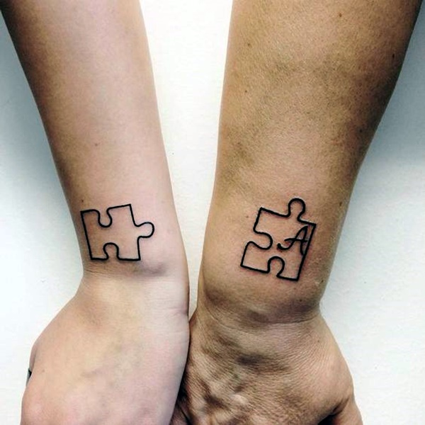 Matching Sister Tattoos: 45 Feeling-Full Brother And Sister Tattoos That Make You