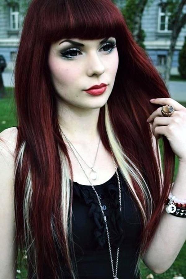 burgundy-hair-color-ideas-with-highlights-16