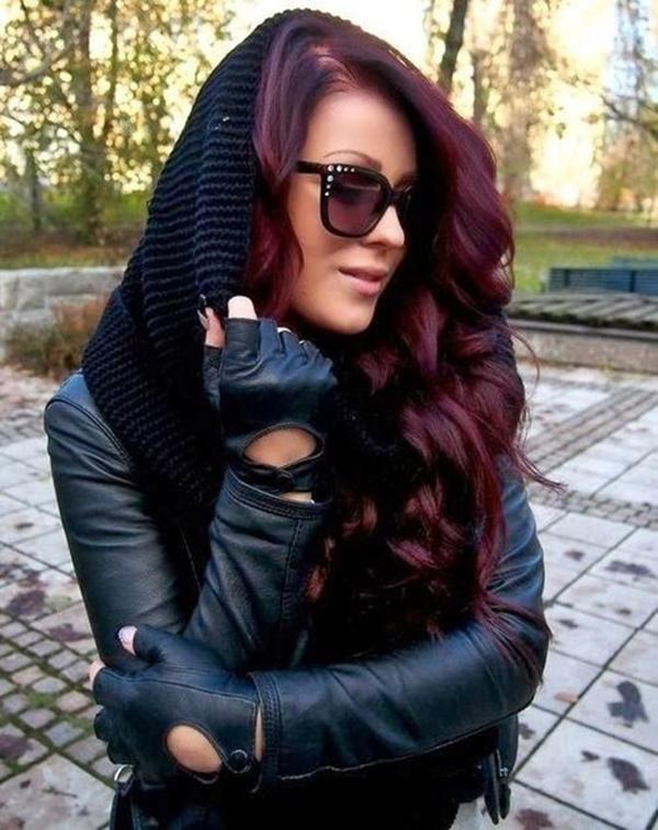 burgundy-hair-color-ideas-with-highlights-17
