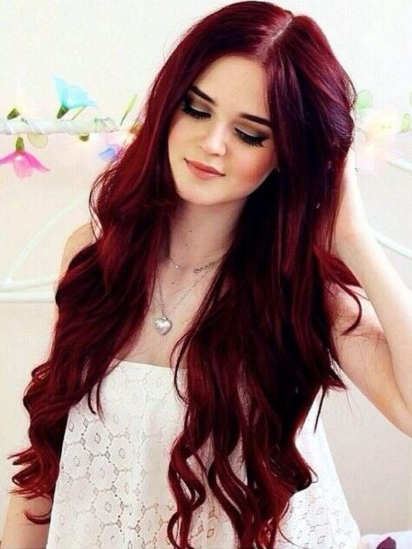 burgundy-hair-color-ideas-with-highlights-3