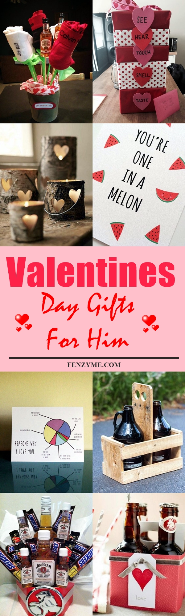 80 handcrafted valentines day gifts for him to express for Cute valentines day gifts for men