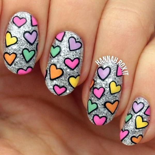 valentines-week-nails-designs-17