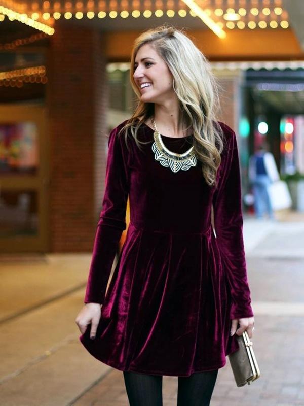 fashionable-velvet-dresses-5