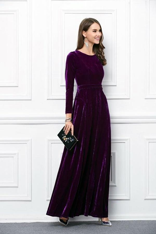 fashionable-velvet-dresses-8