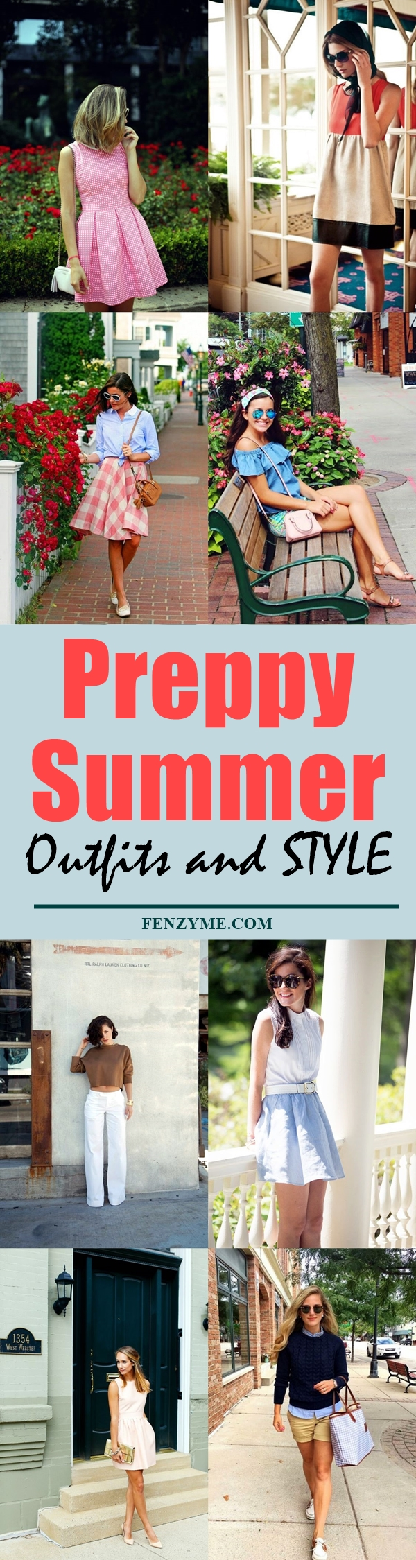 Preppy Summer Outfits and STYLE (1)