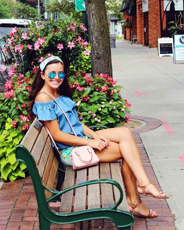 Preppy Summer Outfits and STYLE (10)