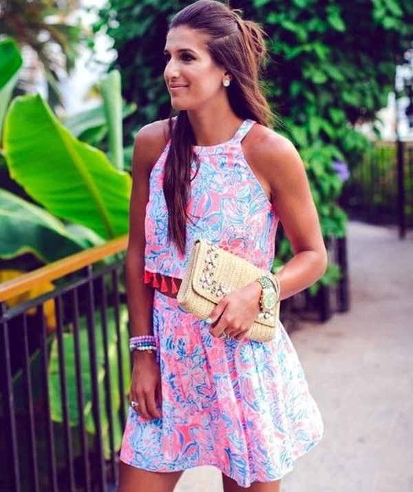 Preppy Summer Outfits and STYLE (14)