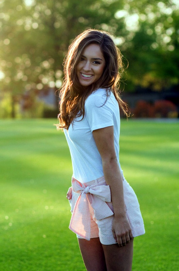 Preppy Summer Outfits and STYLE (15)