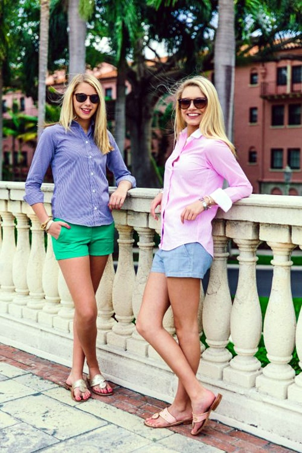 Preppy Summer Outfits and STYLE (20)