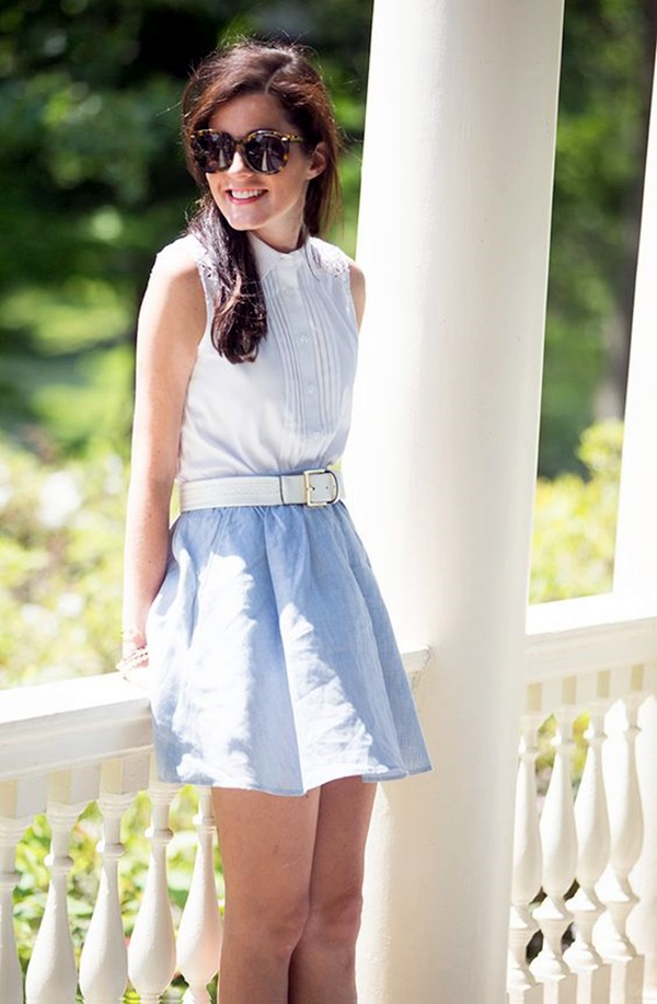 Preppy Summer Outfits and STYLE (21)