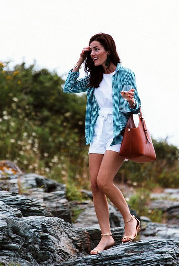 Preppy Summer Outfits and STYLE (29)